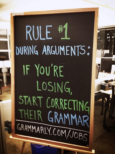 Good grammar will go a long way in helping you start blogging in 2018