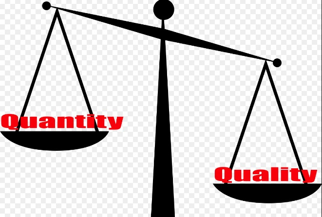 Focusing on quality over quantity earns you more money in the long term