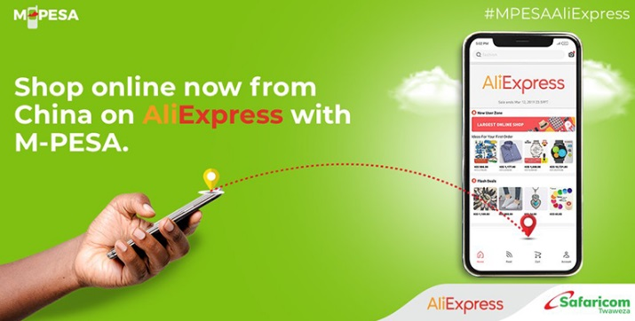 MPESA Aliexpress payment option.